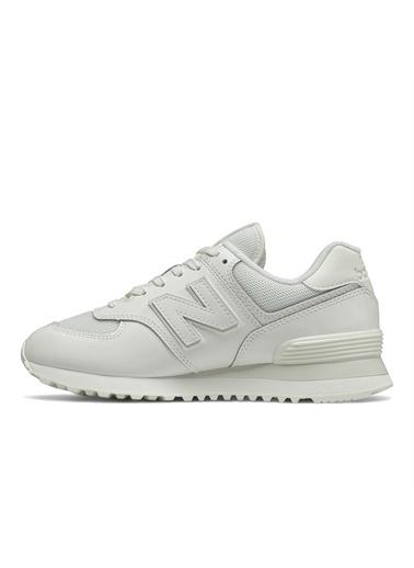 New Balance BEYAZ Kadın Spor Ayakkabı WL574TC2 NEW BALANCE  Beyaz
